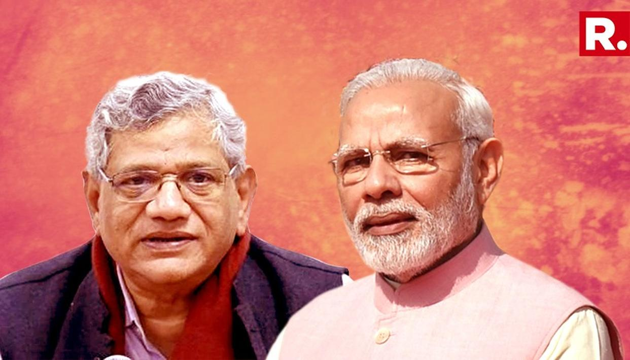 """MODI GOVT ALLOWED GOOD FRIENDS, CRONIES TO LOOT PUBLIC BANKS"": YECHURY"