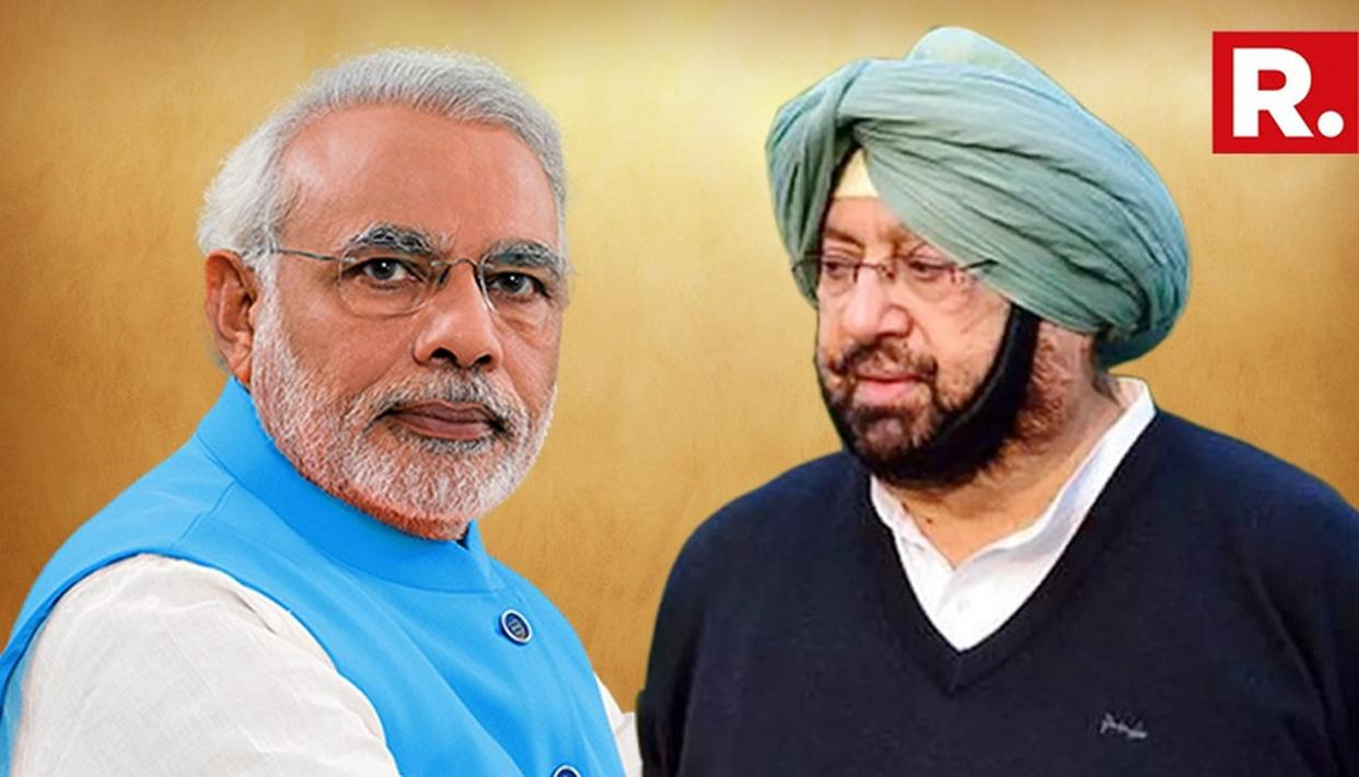AMARINDER MEETS PM, PRESSES FOR COMPENSATION TO FARMERS FOR STUBBLE BURNING