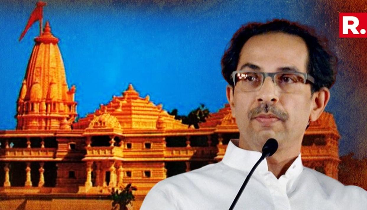 'EITHER YOU BUILD RAM TEMPLE OR WE WILL BUILD,' SAYS SHIV SENA CHIEF UDDHAV THACKERAY WHILE ANNOUNCING HIS AYODHYA VISIT