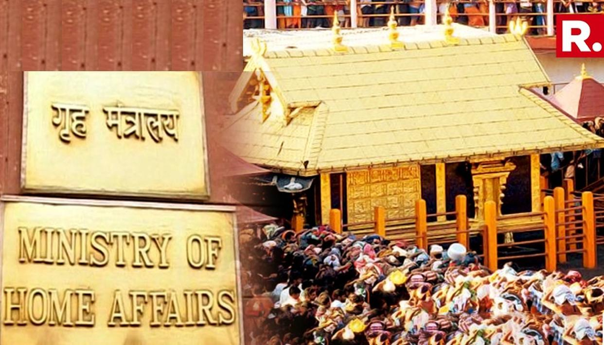 MHA WARNED STATES IN ADVANCE OF TROUBLE AHEAD OF SABARIMALA OPENING