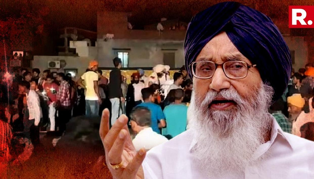 PARKASH SINGH BADAL PINS AMRITSAR TRAIN ACCIDENT BLAME ON ORGANIZERS AND CHIEF GUEST