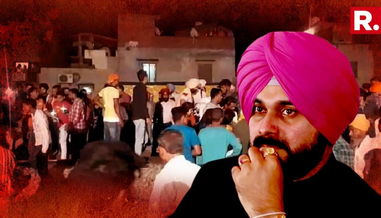 SIDHU ACCEPTS NEGLIGENCE, DENIES AMRITSAR TRAIN INCIDENT WAS INTENTIONAL