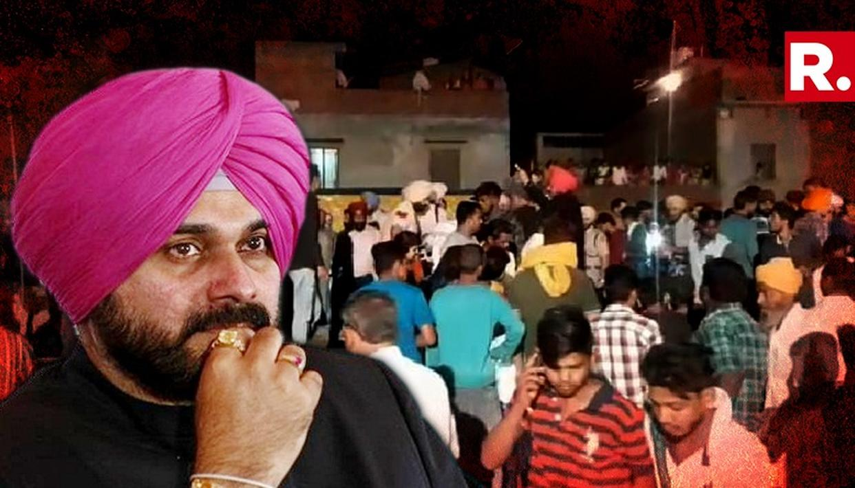 ANYTHING ELSE, ANYTHING ELSE...NO COMMENTS: NAVJOT SINGH SIDHU