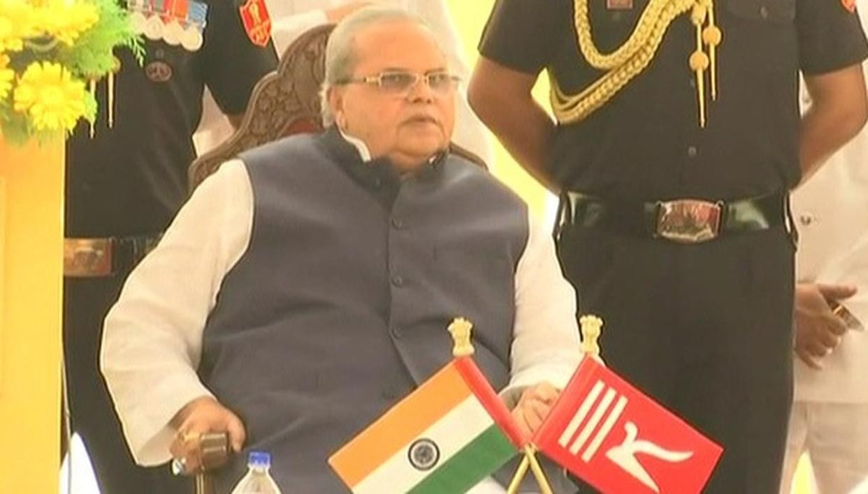 GOVERNOR FAVOURS FRESH ASSEMBLY ELECTION IN JAMMU AND KASHMIR
