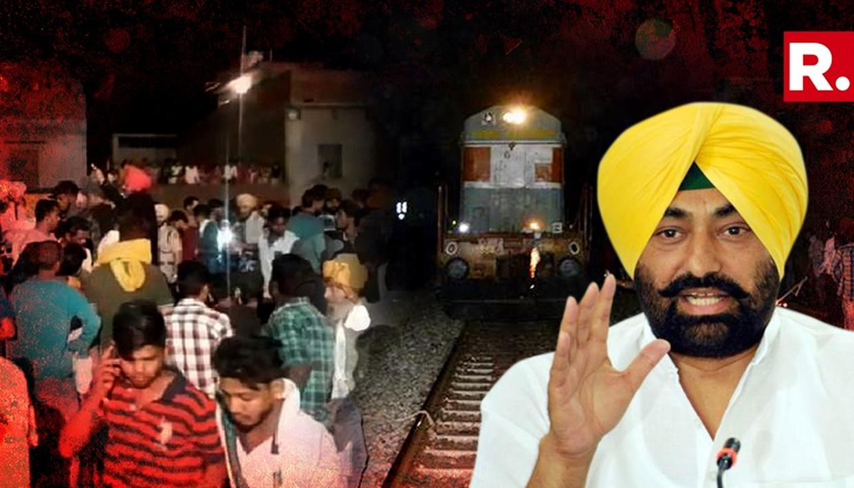 AAP MLA CALLS AMRITSAR TRAIN ACCIDENT AS 'SMALL INCIDENT'
