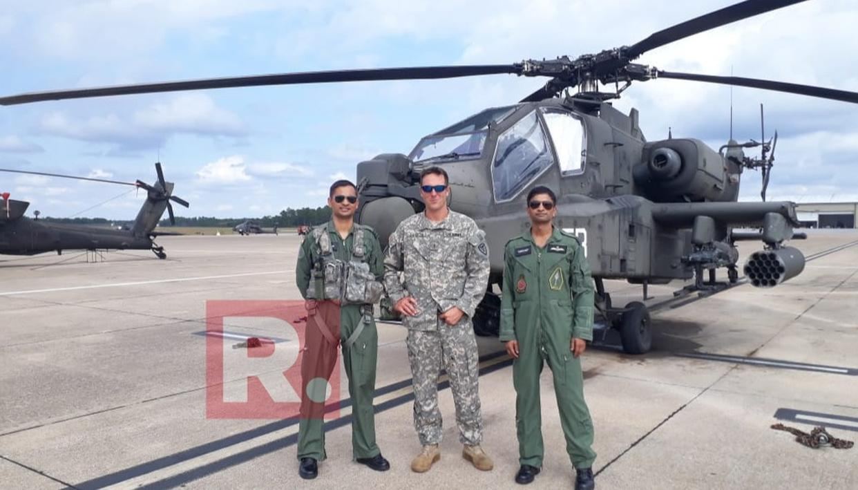 IAF GETS CLOSER TO FLYING THE APACHE AND CHINOOK HELICOPTERS