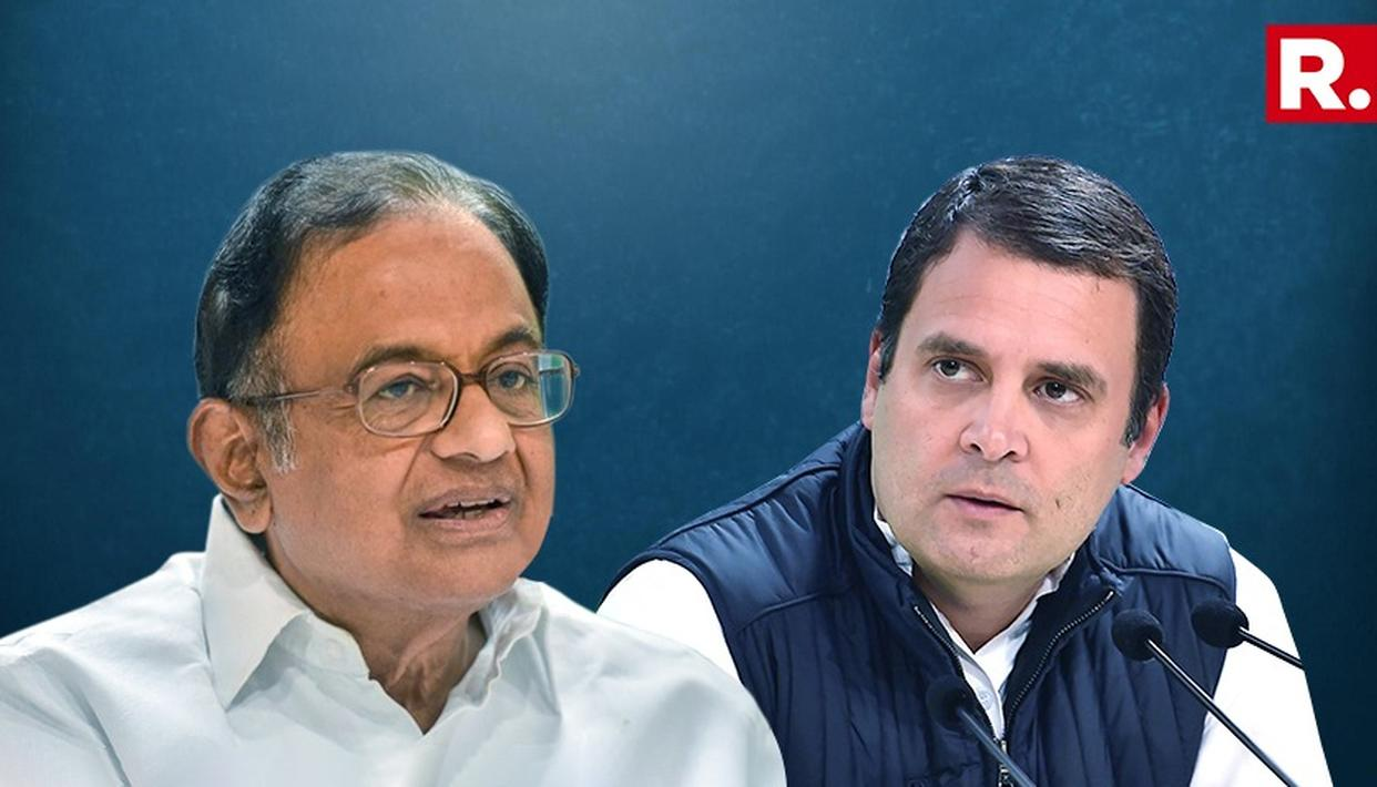 CONG NEVER INSISTED ON RAHUL AS PM: CHIDAMBARAM