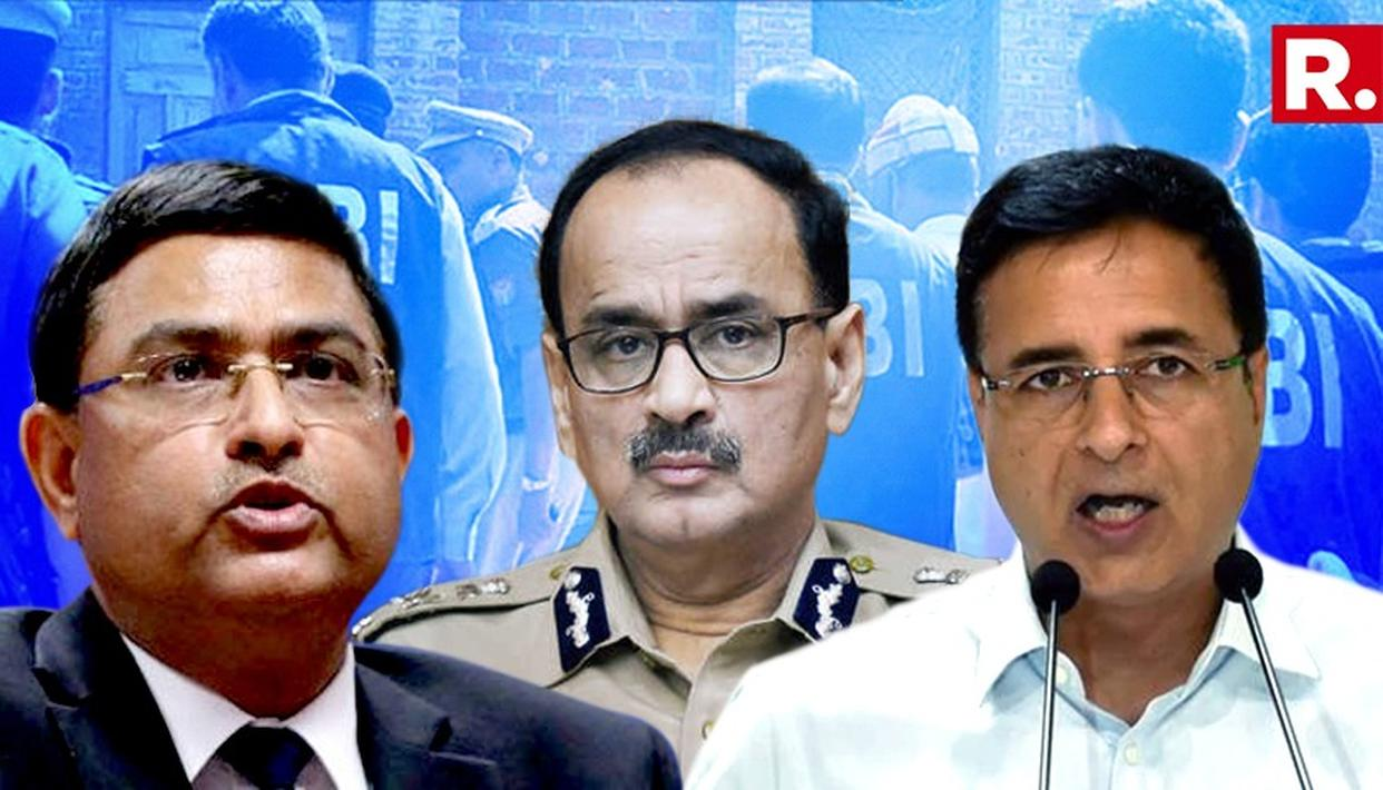 CONG QUESTIONS GOVT'S MOVE TO SACK CBI BOSS