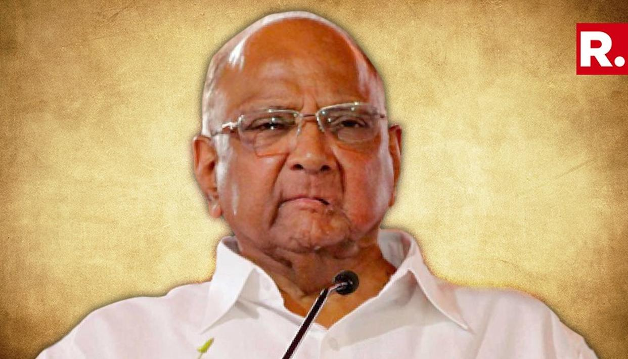 SHARAD PAWAR HAD HIS FIRST BRUSH WITH POLITICS AS A FOUR-DAY-OLD INFANT