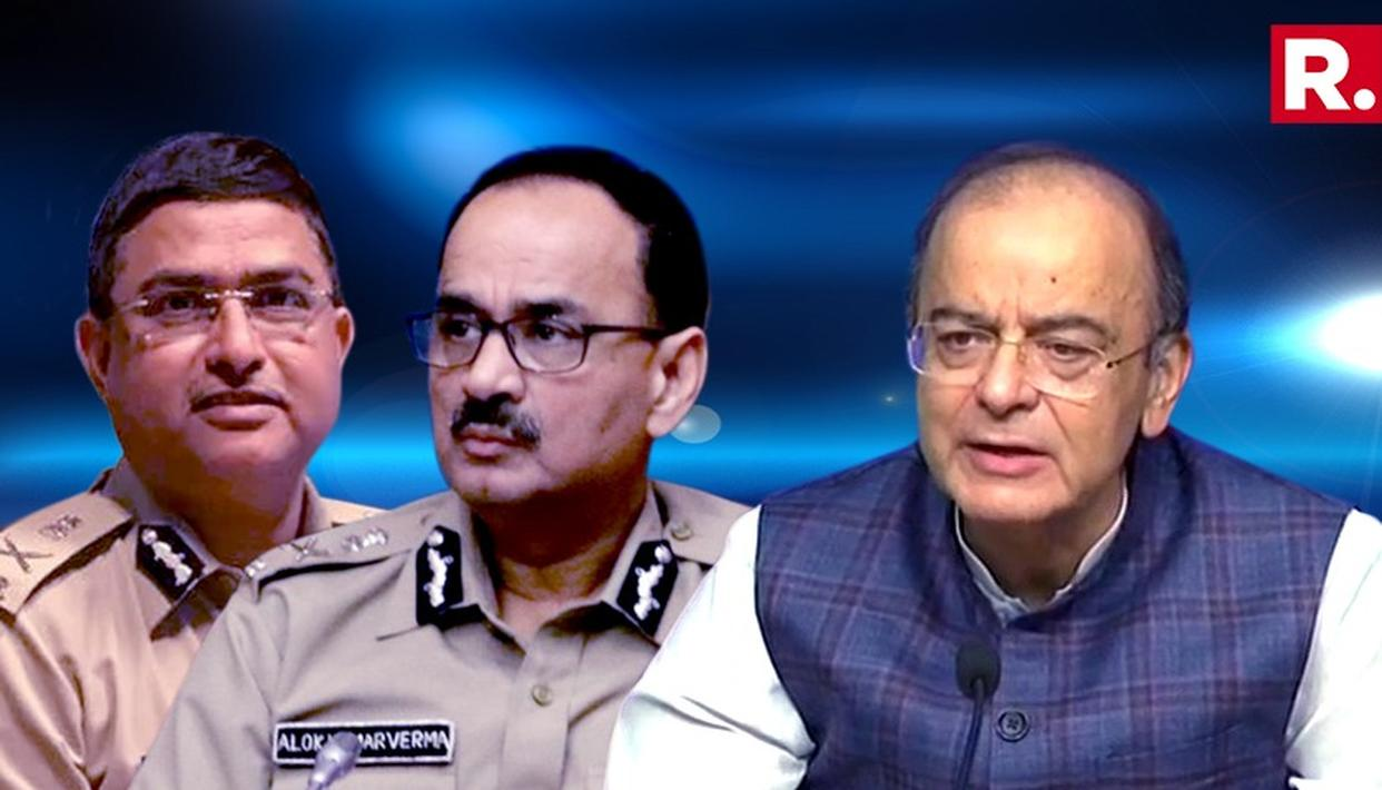 "CBI CLEANUP: JAITLEY SLAMS OPPOSITION CLAIMS AS ""RUBBISH"""