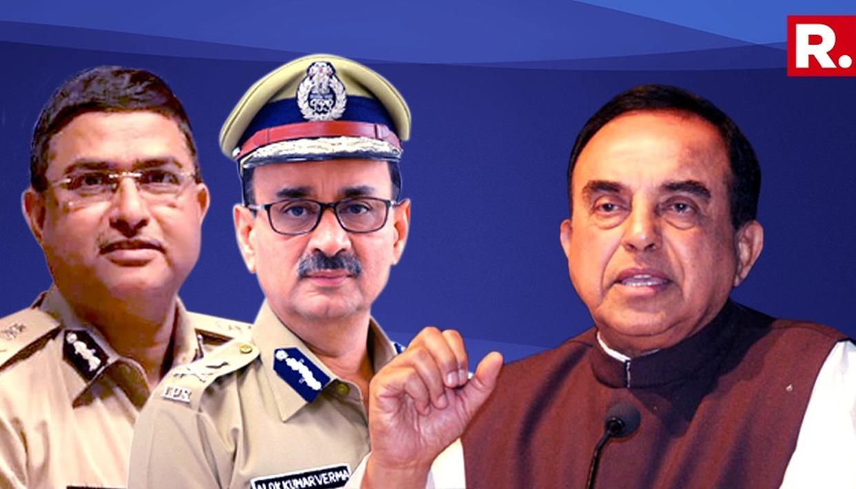 """""""WILL WITHDRAW FROM CORRUPTION CASES"""": DR SWAMY ON CBI 'MASSACRE'"""