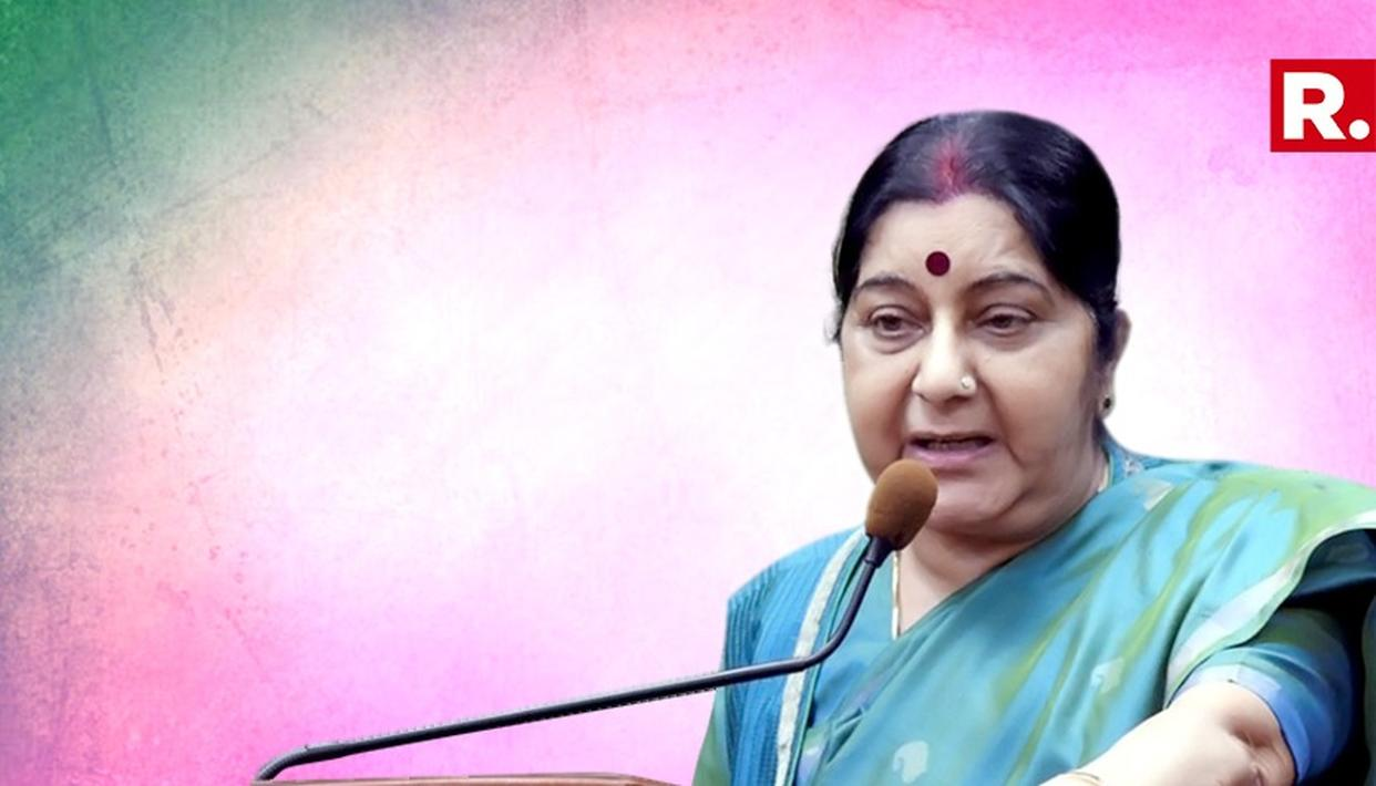 SUSHMA SWARAJ TO VISIT QATAR AND KUWAIT FROM OCTOBER 28-31