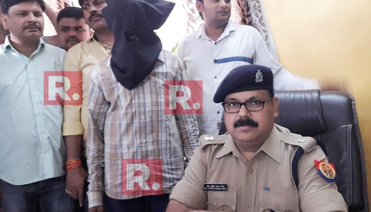 SUSPECTED ISI AGENT ARRESTED IN UP
