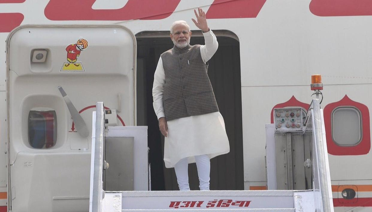 PM MODI DEPARTS FOR JAPAN TO ATTEND ANNUAL SUMMIT