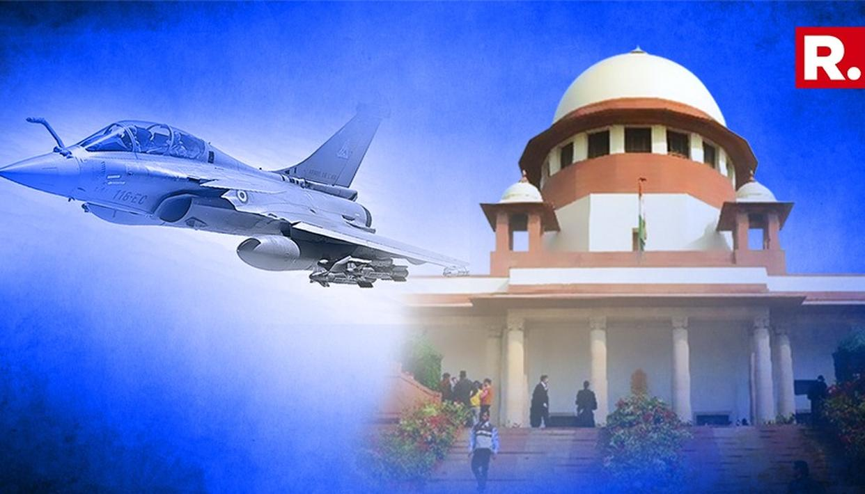 RAFALE JET DEAL CASE: CENTRE SUBMITS DETAILS TO THE SUPREME COURT IN SEALED COVER
