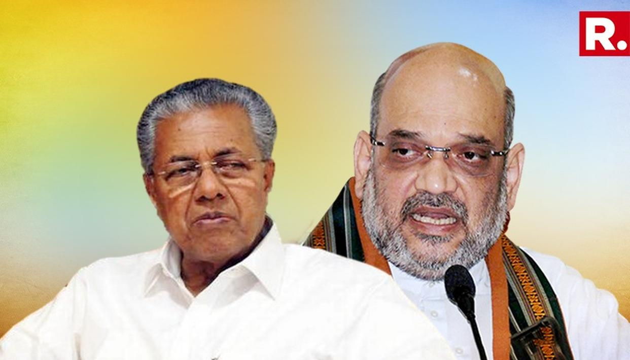 KERALA CM VIJAYAN AND AMIT SHAH IN MASSIVE WAR OF WORDS
