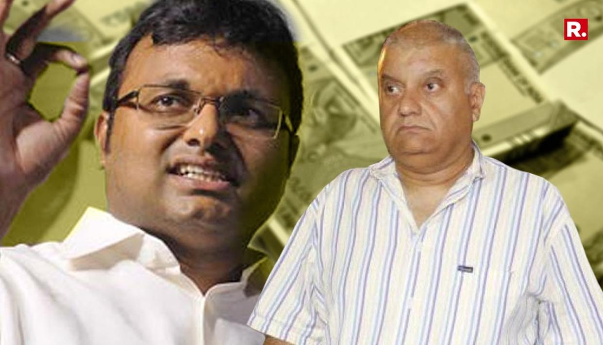 KARTI DEMANDED $1 MILLION TO SETTLE INX DEAL: ED STATEMENT