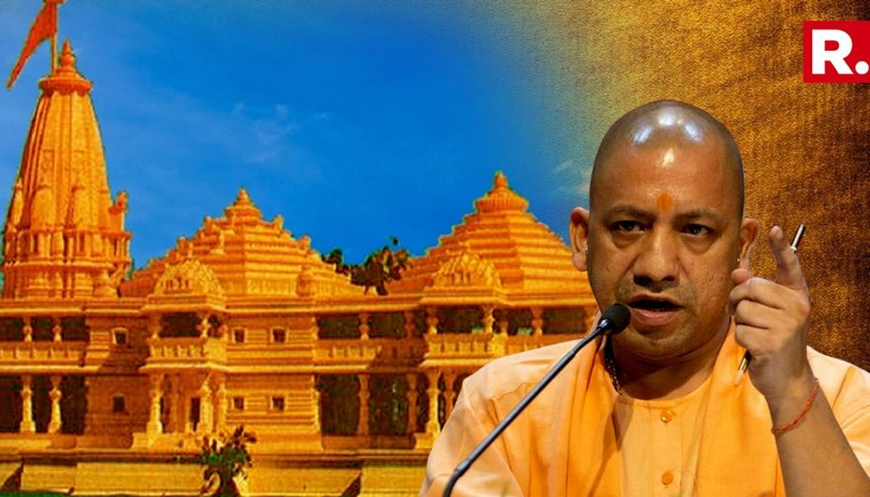 YOGI ADITYANATH URGES SUPREME COURT ON RAM MANDIR ISSUE