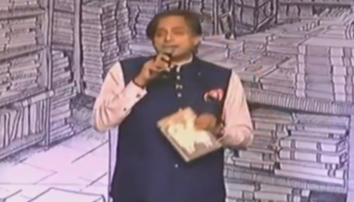 THAROOR'S 'SHIVLING, SCORPION, CHAPPAL' ATTACK AT PM MODI