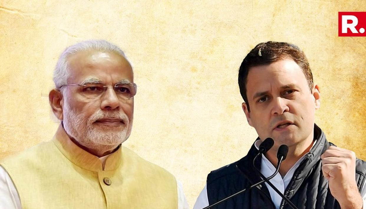 RAHUL GANDHI BLAMES PM MODI FOR MARTYRDOM OF SOLDIERS