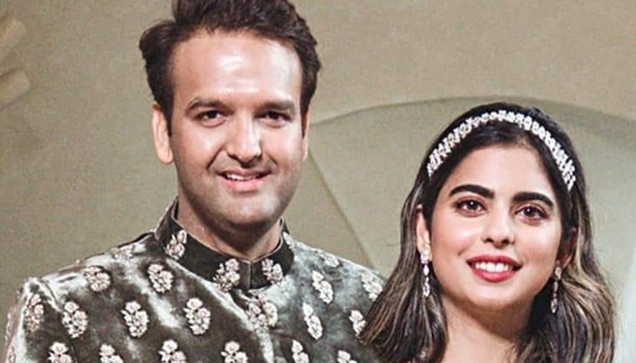 ISHA AMBANI AND ANAND PIRAMAL TO WED ON 12TH DECEMBER 2018, HERE ARE THE DETAILS