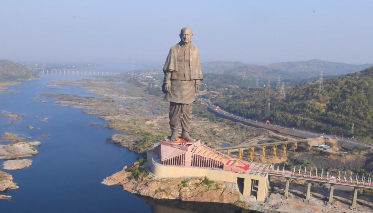 STATUE OF UNITY: HOW IT WAS BUILT