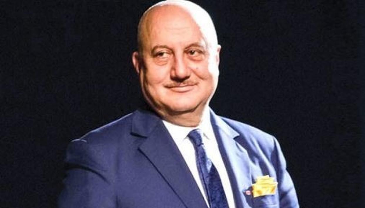 ANUPAM KHER STEPS DOWN AS CHAIRMAN OF FILM AND TELEVISION INSTITUTE CITING 'BUSY SCHEDULE'