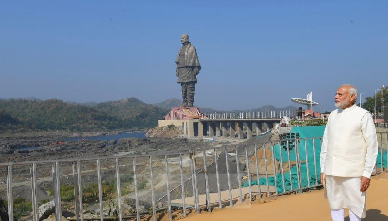 WATCH: PM MODI'S FULL STATUE OF UNITY INAUGURATION SPEECH