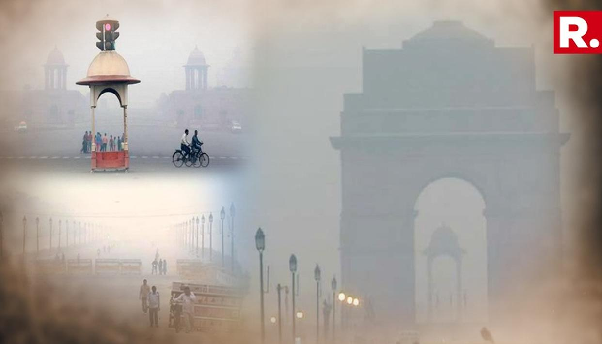 DELHI'S AIR QUALITY ON BRINK OF TURNING SEVERE: AUTHORITIES
