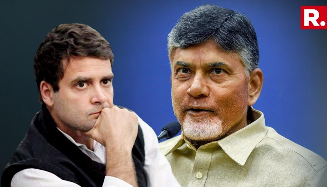 CHANDRABABU NAIDU TO MEET RAHUL GANDHI ON NOV 1: TDP SOURCES