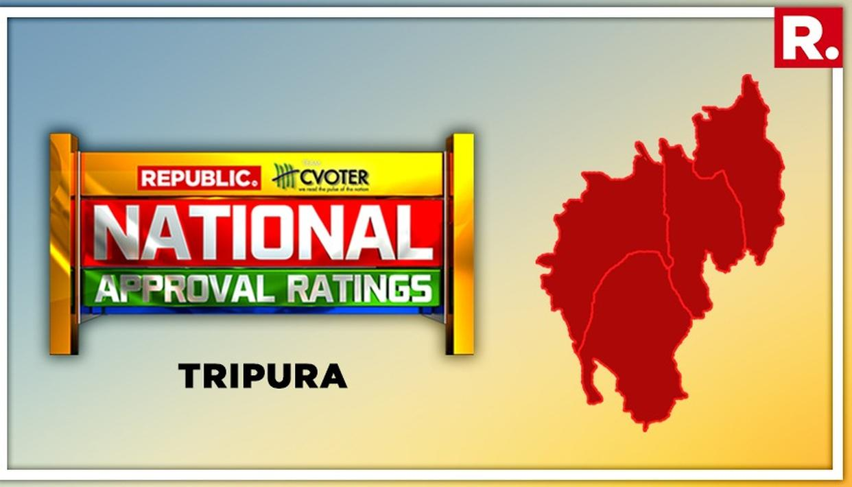 NATIONAL APPROVAL RATINGS: NDA LIKELY TO SNATCH BOTH LOK SABHA SEATS IN TRIPURA