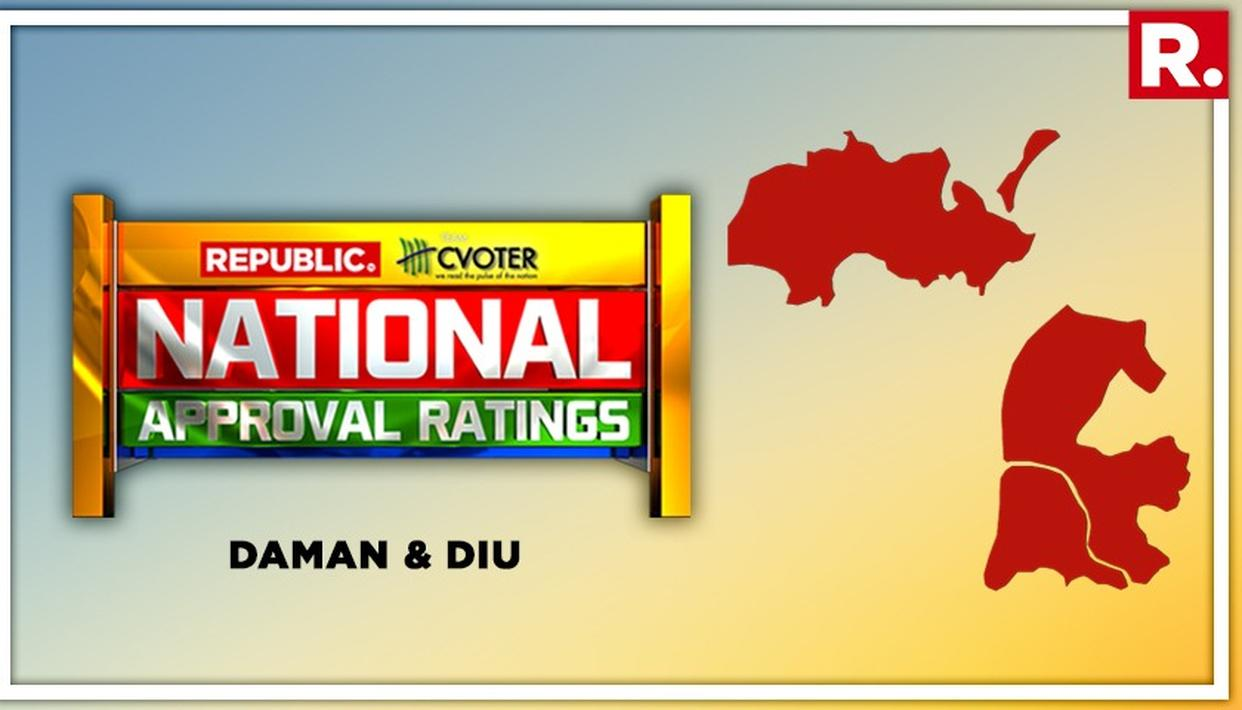 NATIONAL APPROVAL RATINGS: BJP LIKELY TO WIN THE SOLE SEAT IN DAMAN AND DIU