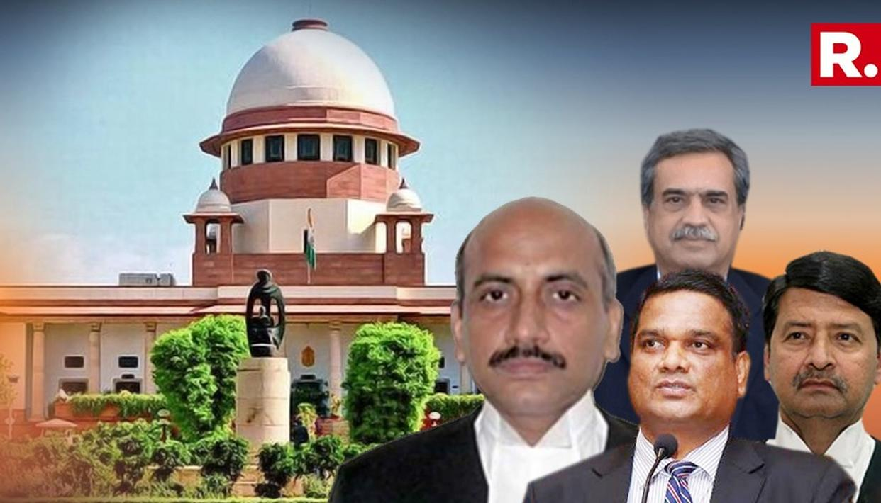 Supreme Court Of India Gets Four New Judges