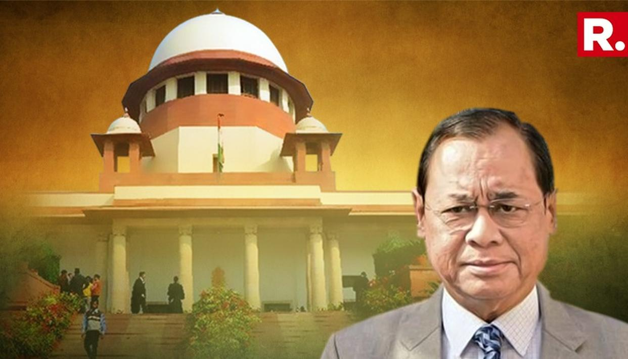CJI RANJAN GOGOI PRAISES CENTRAL GOVERNMENT FOR ITS HISTORIC SPEED