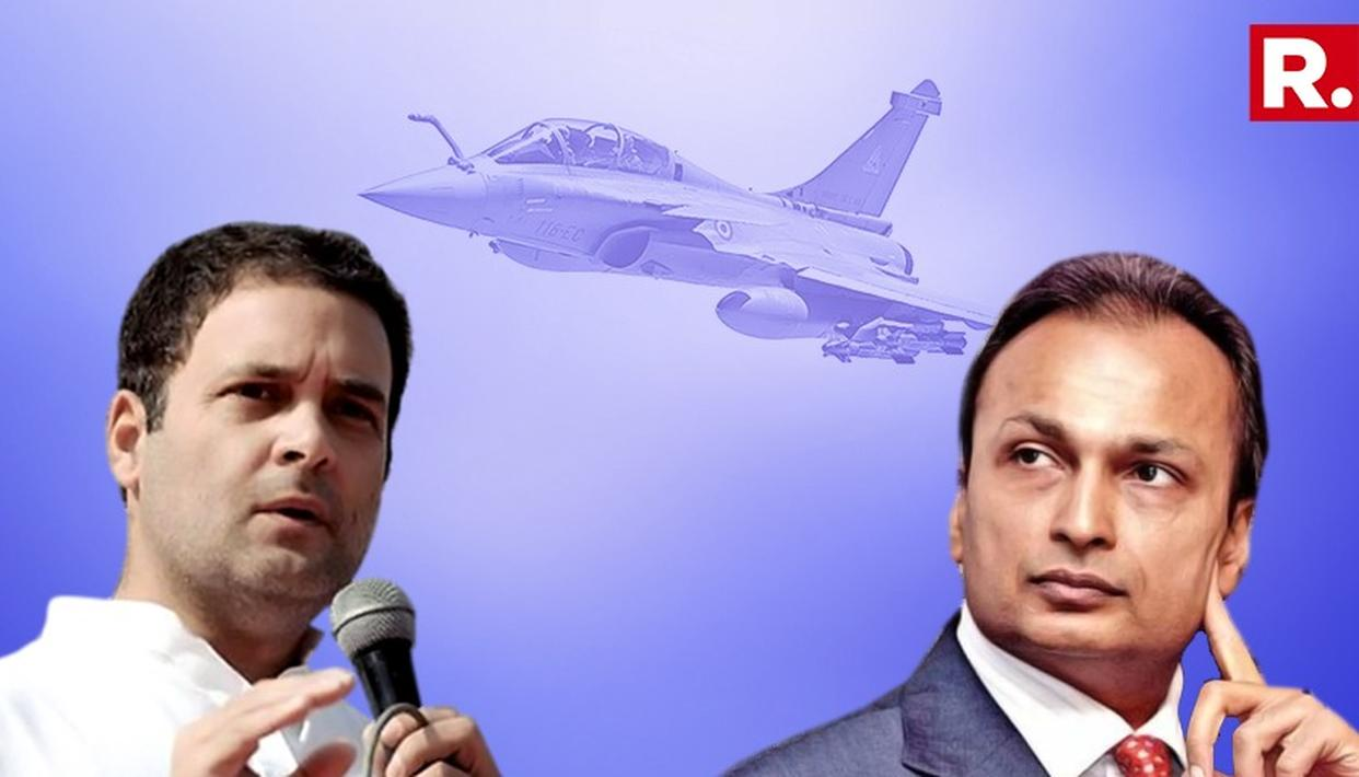 RELIANCE REFUSES RAHUL GANDHI'S ALLEGATIONS ON RAFALE
