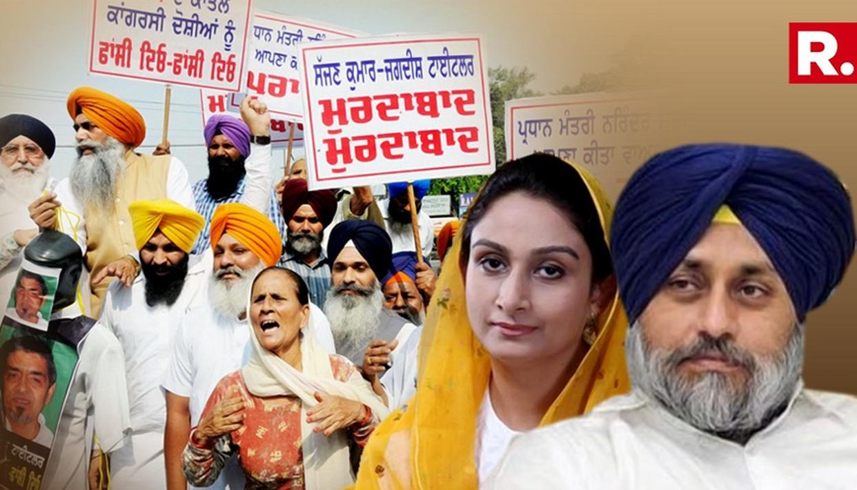 PROTESTERS SEEK JUSTICE FOR 1984 ANTI-SIKH RIOTS