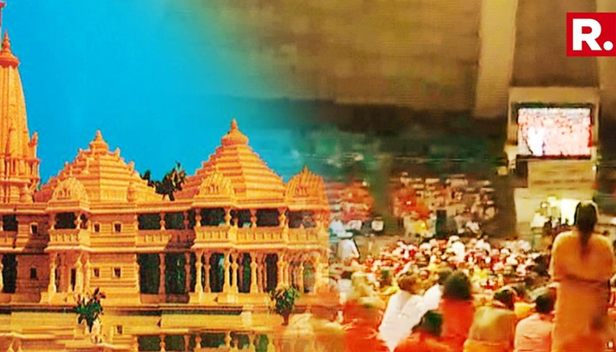 CHORUS FOR ORDINANCE ON RAM MANDIR GROWS