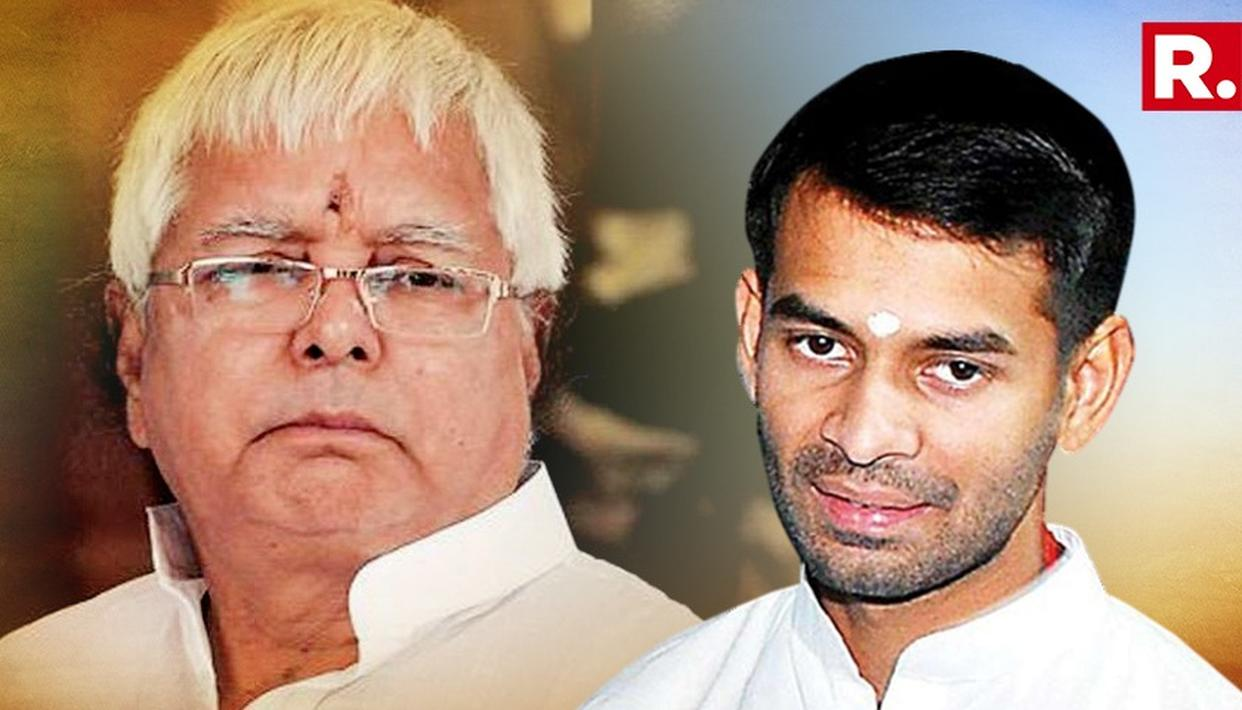TEJ PRATAP'S MEETING WITH FATHER LALU LASTED FOR ALMOST 3 HOURS