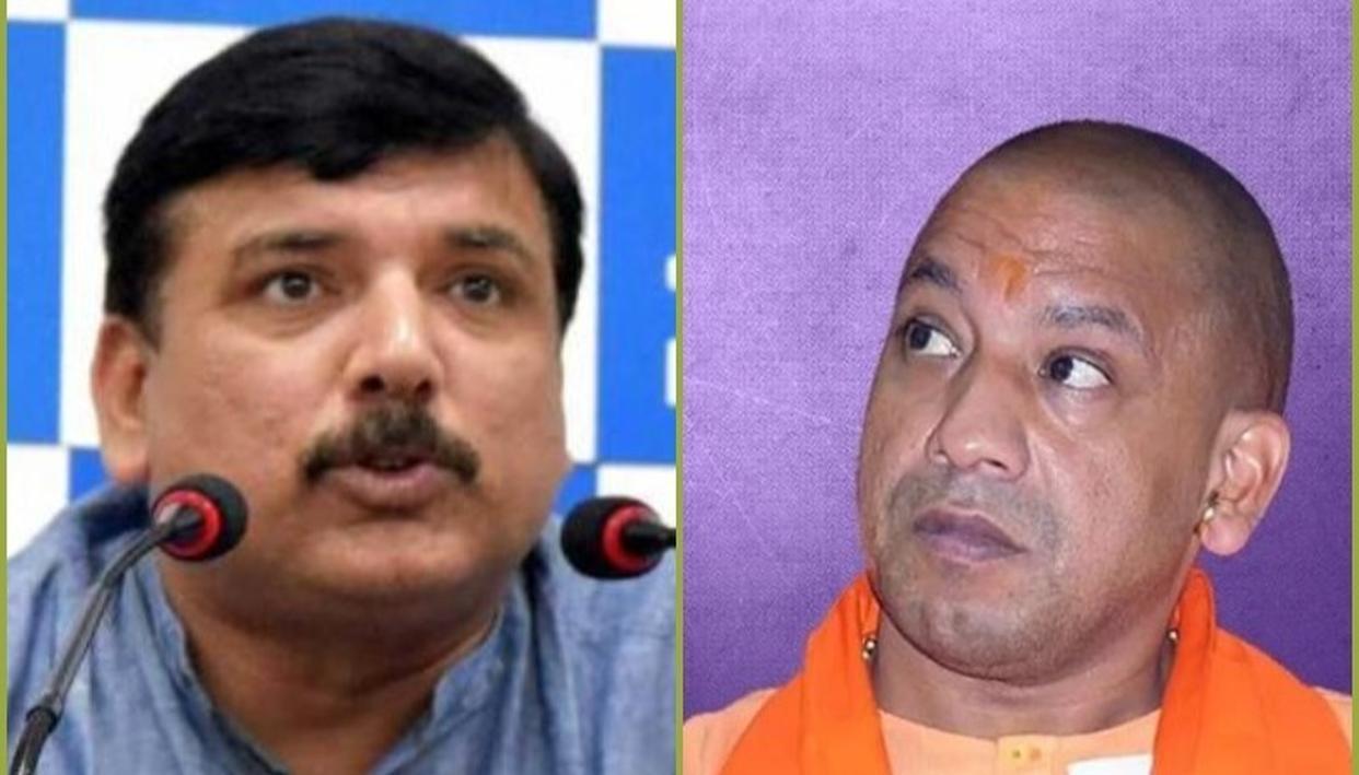 फैजाबाद का नाम बदलने को लेकर CM योगी पर बरसे AAP नेता संजय सिंह, फैसले को बताया 'तुगलकी फरमान'