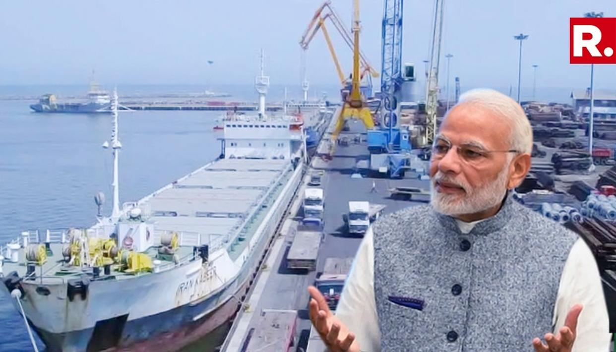 USA EXEMPTS INDIA FROM CERTAIN SANCTIONS FOR DEVELOPMENT OF CHABAHAR PORT IN IRAN
