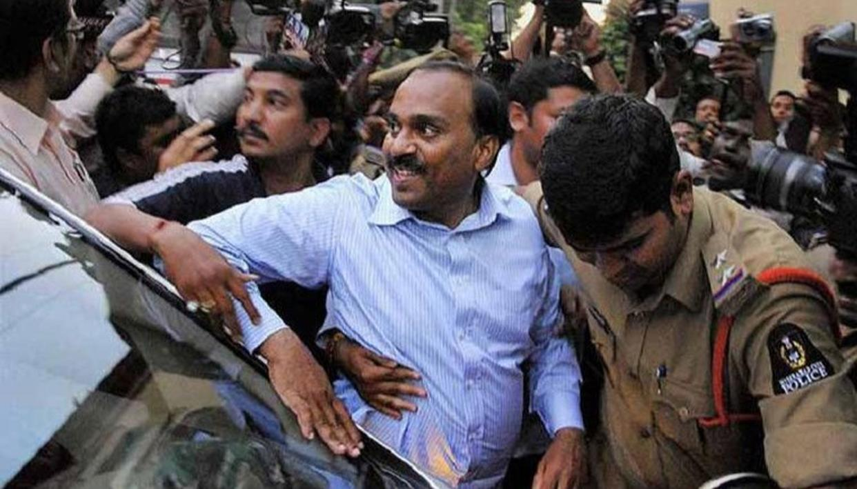 JANARDHAN REDDY ARRESTED AND CHARGED UNDER IPC AND PMLA