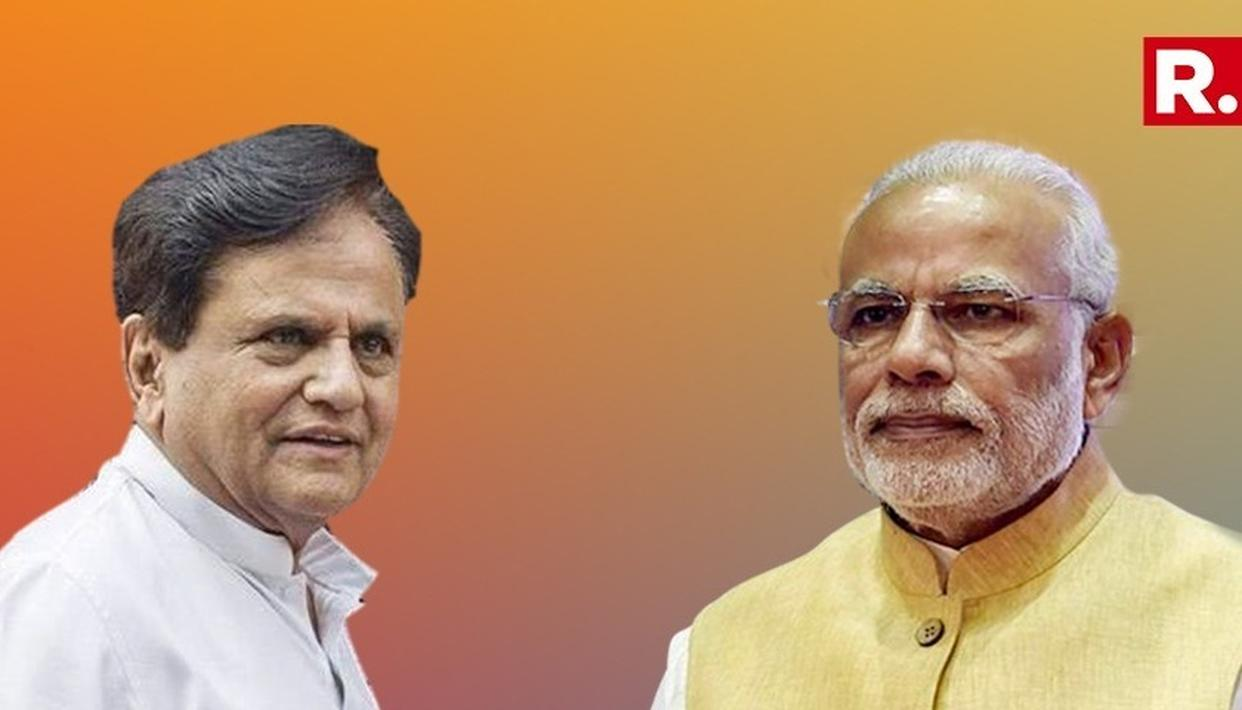 AHMED PATEL HITS BACK AT BJP'S 'URBAN NAXALS' SUPPORT CHARGE