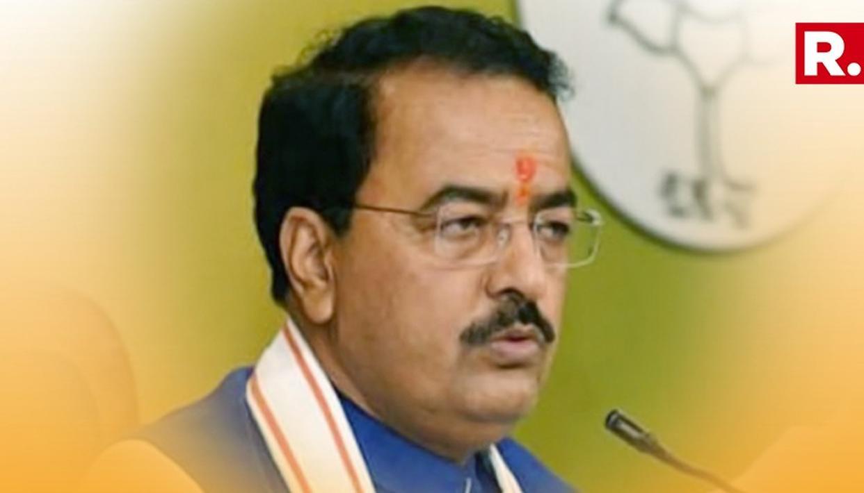 ''People Are In Alliance With PM Modi'' Says Uttar Pradesh Deputy Chief Minister Keshav Prasad Maurya