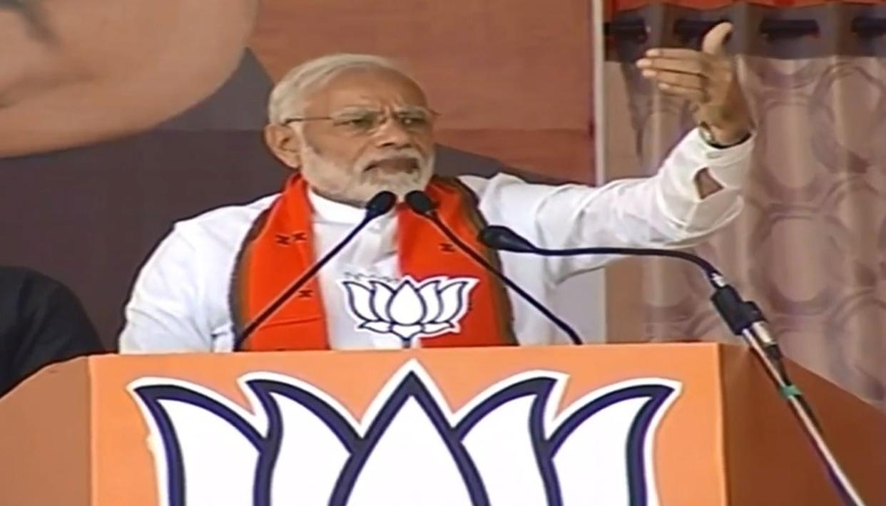 WATCH: PM MODI'S STRONGEST COUNTER ON DEMONETISATION YET