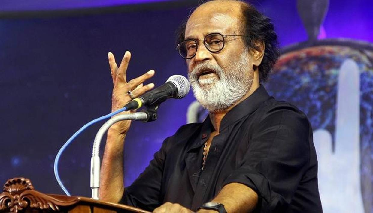 WATCH: RAJINIKANTH'S CRYPTIC MESSAGE WHEN ASKED IF BJP IS DANGER TO DEMOCRACY