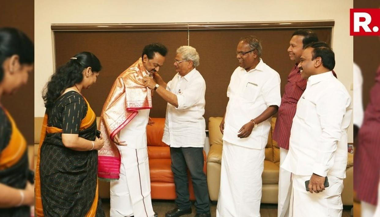 CPI(M)-DMK STATE-LEVEL ALLIANCE