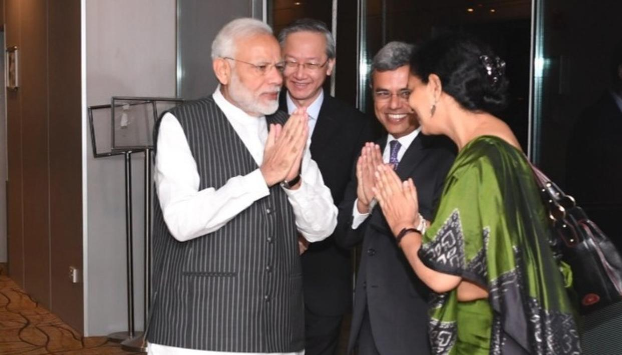 PM NARENDRA MODI IN SINGAPORE FOR ASEAN-INDIA AND EAST ASIA SUMMITS. CATCH LIVE UPDATES HERE
