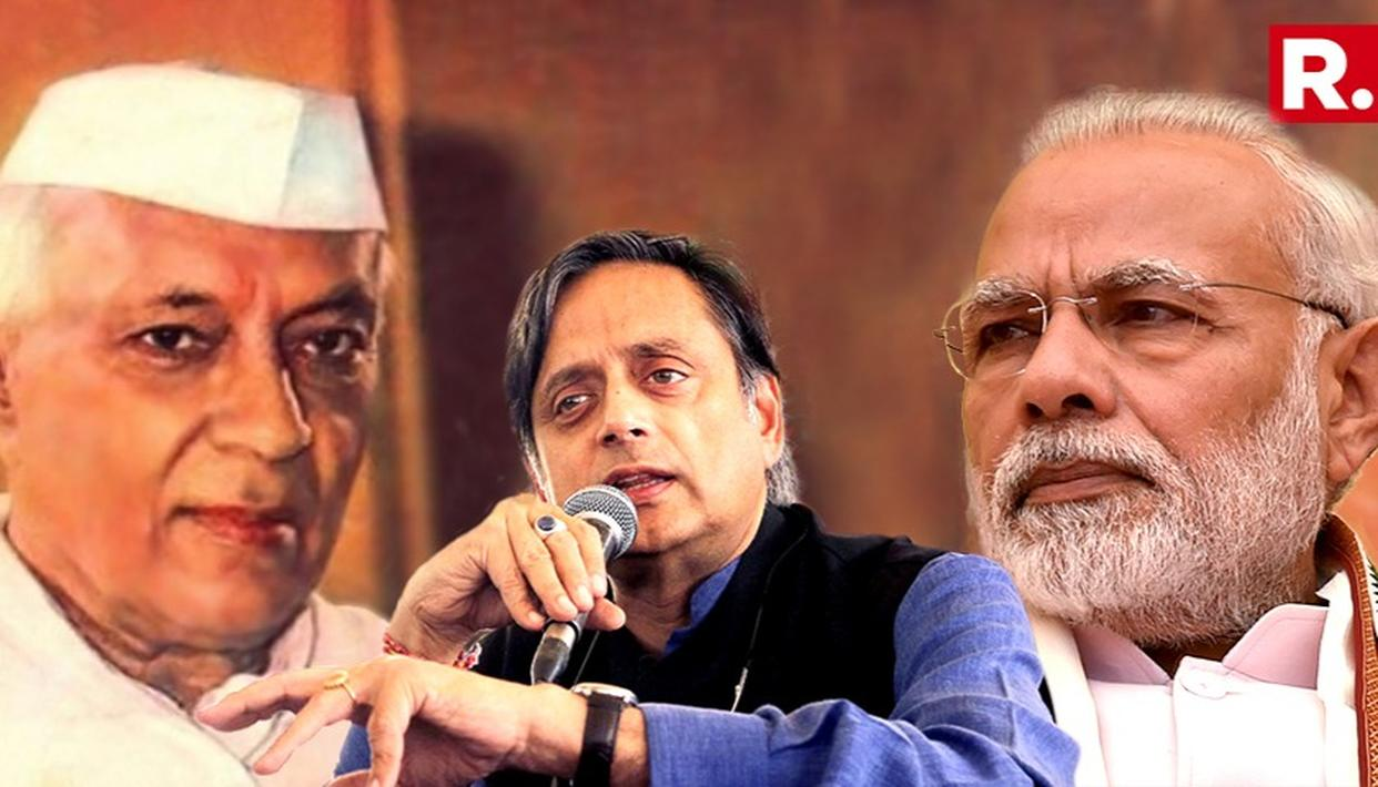 'NEHRU SOLE REASON WHY HUMANITY EXISTS': BJP'S SARCASTIC RESPONSE TO THAROOR