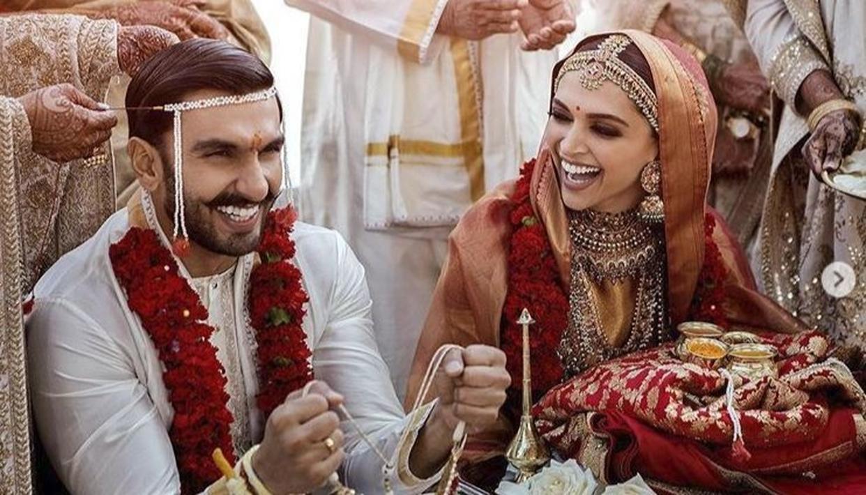 Ranveer-Deepika wedding: शादी के बाद दीपिका-रणवीर की पहली फोटो आई सामने ..