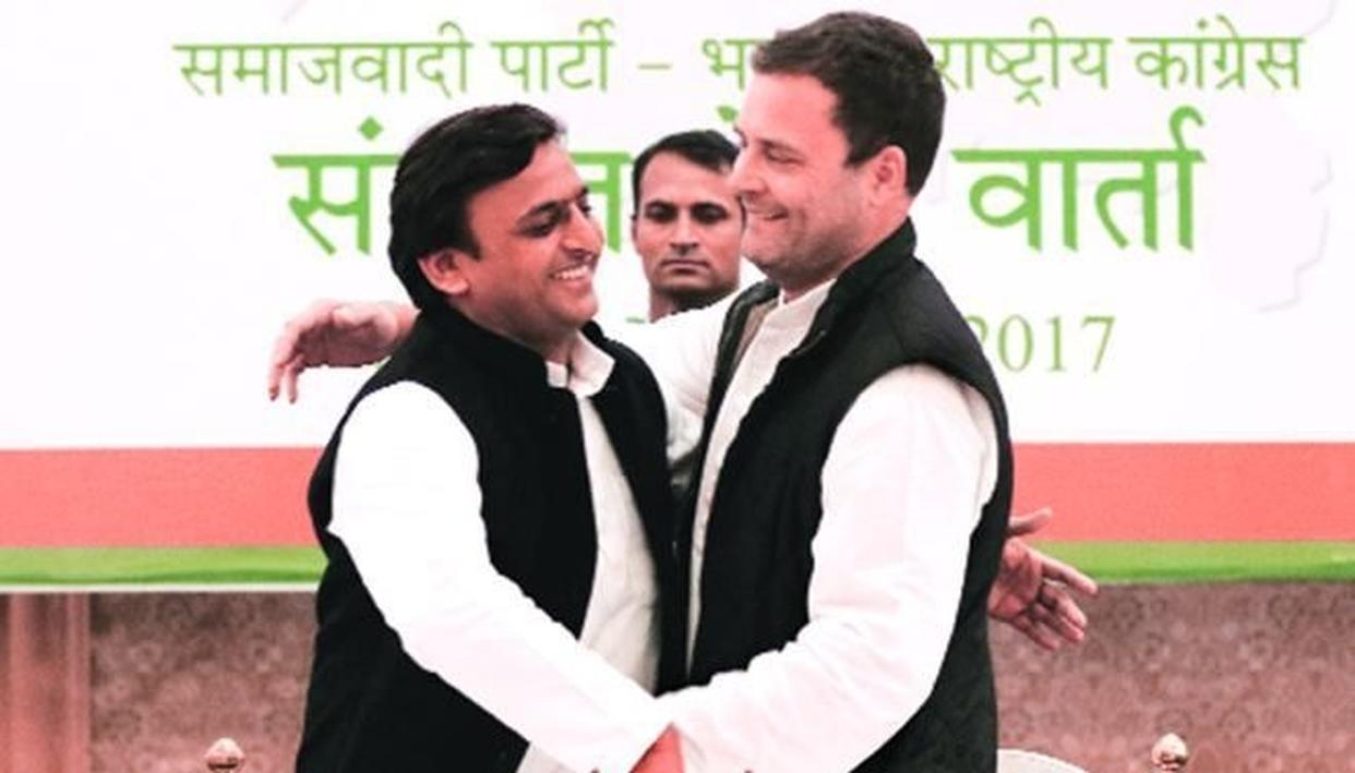 MASSIVE: AKHILESH ATTACKS CONGRESS